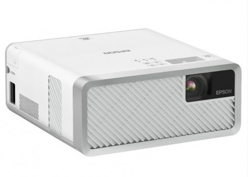 Videoproiector EPSON EF-100W Android TV Edition, HD ready, 2000 lumeni, 2500000:1 ,alb